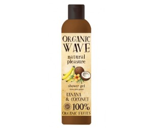 Organic Wave Гель для душа Banana & Coconut Банан и кокос 270 мл