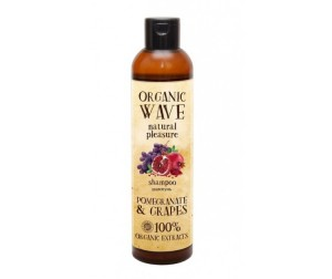 Organic Wave Шампунь для волос Pomegranate & Grapes Гранат и Виноград 270 мл