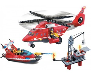 Конструктор Enlighten Brick Fire Rescue 905 (404 элемента)
