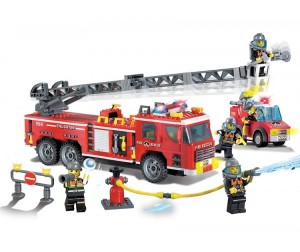 Конструктор Enlighten Brick Fire Rescue 908 (607 элементов)