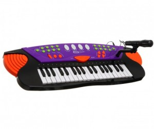 Музыкальная игрушка SS Music Синтезатор с микрофоном Musical Keyboard 37 клавиш 77037