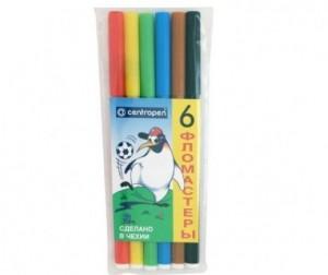 Купить Фломастеры Centropen Набор Пингвины 6 цветов