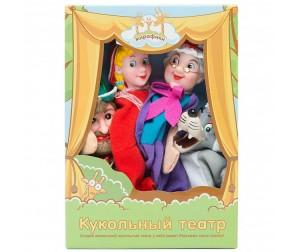 Купить Жирафики Кукольный Театр Красная шапочка (4 куклы)