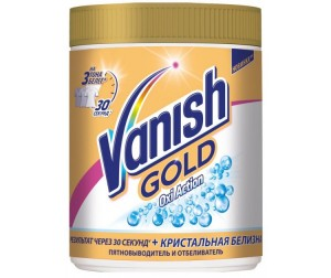 Vanish Gold Oxi Action ����������� �������. ������������ ��� ����� ������ 1 ��
