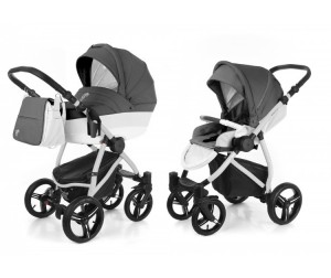 Коляска Esspero Grand Newborn Lux 2 в 1 шасси Grey