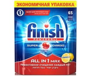 Купить Calgon Calgonit finish Таблетки для посудомоечных машин Все в одном 65 шт.