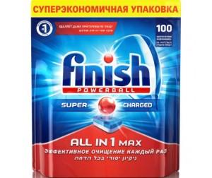 Купить Calgon Calgonit finish Таблетки для посудомоечных машин Все в одном 100 шт.