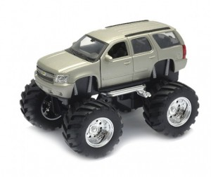 Welly Модель машины 1:34-39 Chevrolet Tahoe Big Wheel