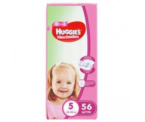 Huggies Подгузники Ultra Comfort Mega для девочек 5 (12-22 кг) 56 шт.