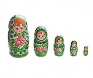 Купить Деревянная игрушка Бэмби Матрешка 5 в 1 P45/755
