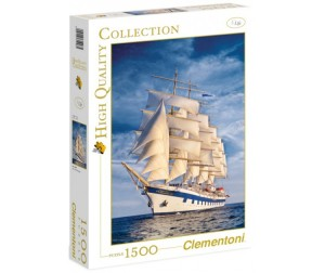 Clementoni Пазл High Quality Collection - Парусник Royal Clipper (1500 элементов)