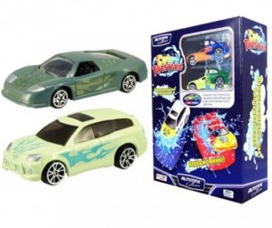 Autotime Набор из двух машинок Color Twisters - Water Tunning-2