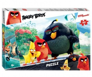 Step Puzzle Пазл Angry Birds 260 элементов