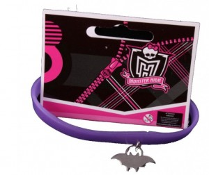 Monster High Браслет Клаудин Вульф с подвеской силиконовый