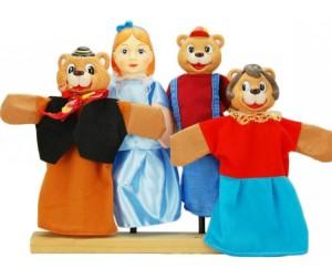 Купить Жирафики Кукольный Театр Три медведя (4 куклы)