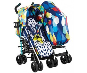 Cosatto Кoляcкa для двoйни To & Fro Duo Twin Stroller
