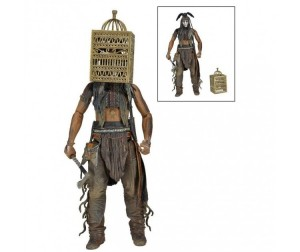 Neca Фигурка The Lone Ranger 7 Series 2 Tonto with Bird Cage