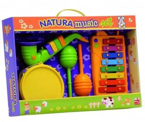 Купить Музыкальная игрушка Reig Набор музыкальных инструментов Натура