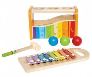 Купить Музыкальная игрушка Hape Музыкальный набор Е0305