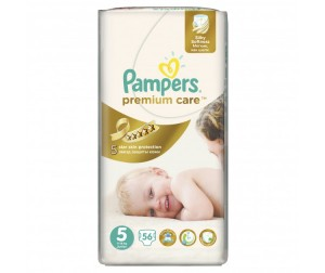 Pampers Подгузники Premium Care Junior р.5 (11-18 кг) 56 шт.