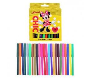 Купить Фломастеры Disney Минни 24 цвета