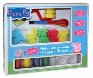 Купить Свинка Пеппа (Peppa Pig) Набор для малышей Рисуем с Пеппой