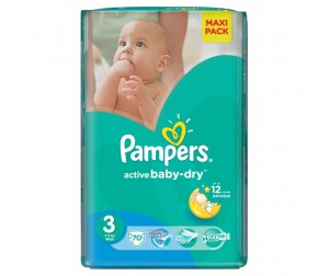 Pampers ���������� Active Baby Midi �.3 (4-9 ��) 70 ��.