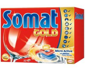 Купить Somat Голд Табс Таблетки для посудомоечной машины 22 шт.