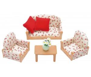 Купить Sylvanian Families Набор мягкой мебели для гостиной