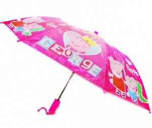 Купить Детский зонтик Свинка Пеппа (Peppa Pig) Зонт-трость Поросёнок Пепа