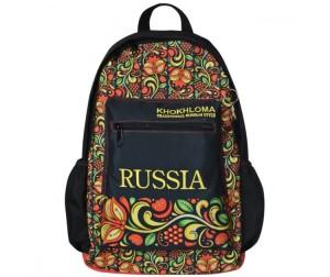Купить Action Рюкзак Russia Khokhloma с рельефной спинкой