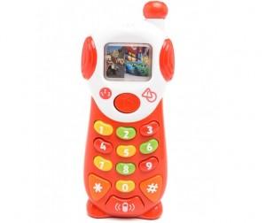 Купить Умка Мобильный телефон Тачки 9 обучающих функций