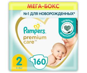 Pampers Подгузники Premium Care 2 р. (3-6 кг) 148 шт.