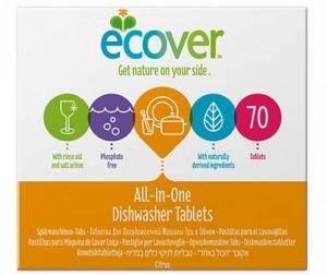 Купить Ecover Таблетки для посудомоечной машины 3 в 1 1400 г