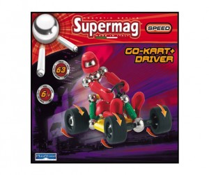 Конструктор Plastwood Supermag Speed Tricycle+Driver