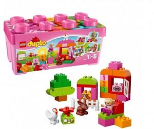 Купить Конструктор Lego Duplo 10571 Лего Дупло Лучшие друзья: курочка и кролик