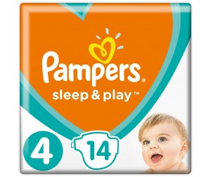 Pampers Подгузники Sleep & Play Стандарт р.4 (7-14 кг) 14 шт.