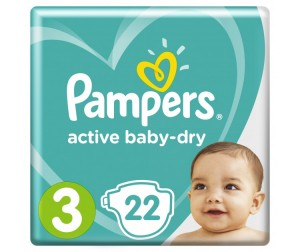 Pampers ���������� Active Baby �������� �.3 (4-9 ��) 22 ��.