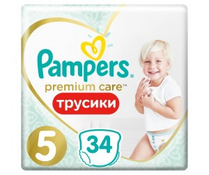 Pampers ����������-������� Premium Care Pants Junior �.5 (12-18 ��) 40 ��.