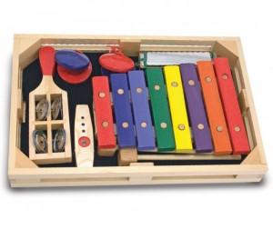 Купить Музыкальная игрушка Melissa & Doug Набор музыкальных инструментов 7 элементов