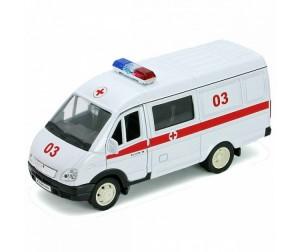 Купить Welly Модель машины 1:34-39 ГАЗель Скорая помощь