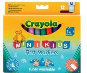 Купить Фломастеры Crayola цветные для малышей 12 шт.