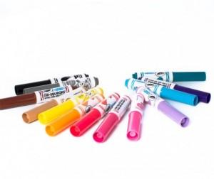 Купить Фломастеры Crayola Набор из 14 смываемых мини-маркеров