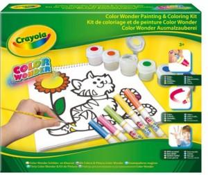 Купить Раскраска Crayola Набор для рисования и раскрашивания Color Wonder