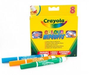 Купить Фломастеры Crayola 8 цветов радуги для белой доски