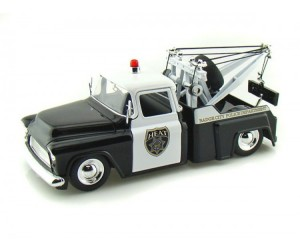 Jada Diekast Модель 1955 Chevy Step Side Tow Truck Police 1:24