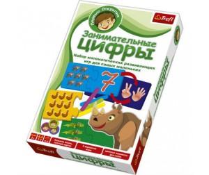 Купить Trefl Настольная игра для малышей Первые открытия Занимательные цифры