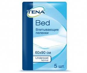 Tena Пеленки Bed Underpad Normal 60x90 см 5 шт.