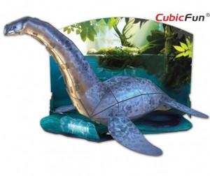 Купить Конструктор CubicFun 3D пазл Эра Динозавров Плезиозавр