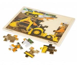 Купить Melissa & Doug Пазл Строительная площадка (24 детали)